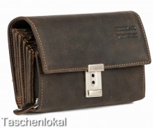 Kellnergeldbeutel Greenland Nature Leder braun